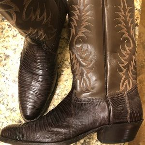 Teju Lizard Cowboy & Western Nocona boots for men